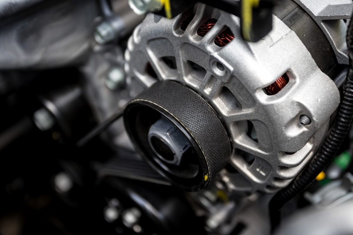 alternator in a vehicle